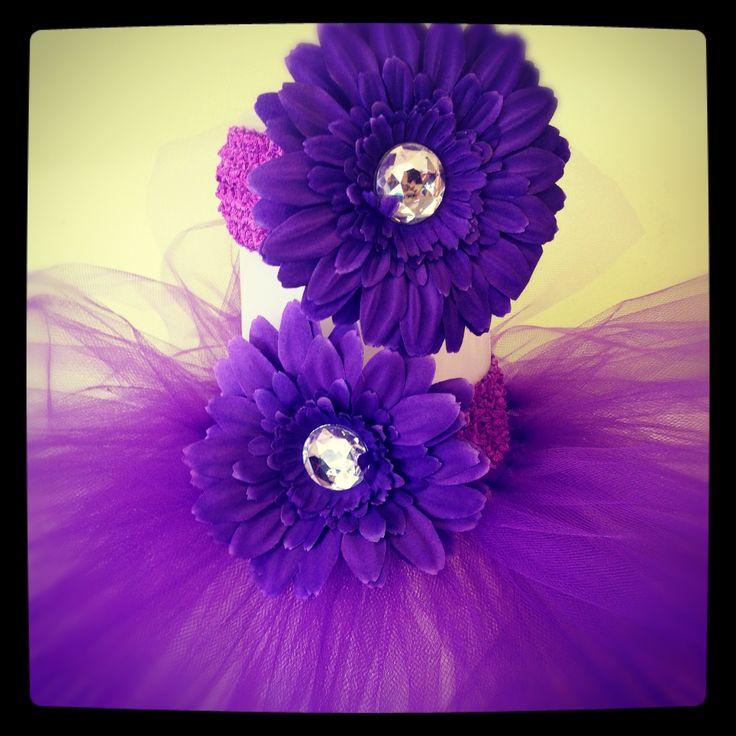 Purple Passion Tutu or Diaper Cake Tutu custom created @Binkys Boutique
