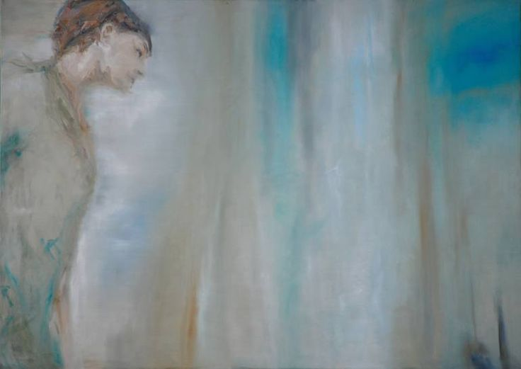 "Saatchi Art Artist Monika Vitanyi; Painting, ""Your mood is turning to the indefinite space"" #art"