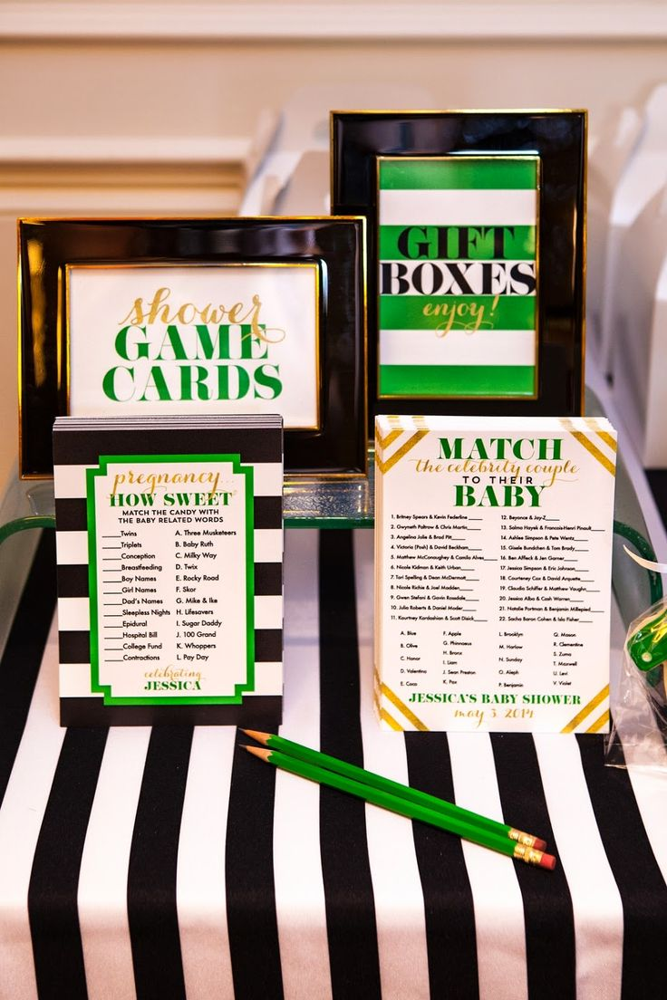 Kate Spade Inspired Baby Shower By Nico And LaLa