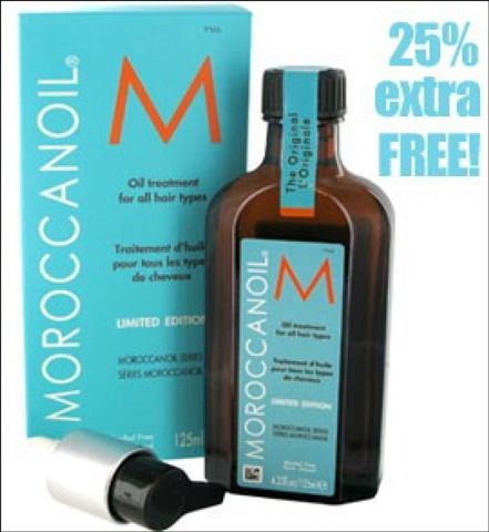For a sale price of £31.85 order this moroccanoil oil treatments that is suitable for all types of hair with an ultra-light formula which is absorbed by the hair instantly with free delivery offer from Zest Beauty.