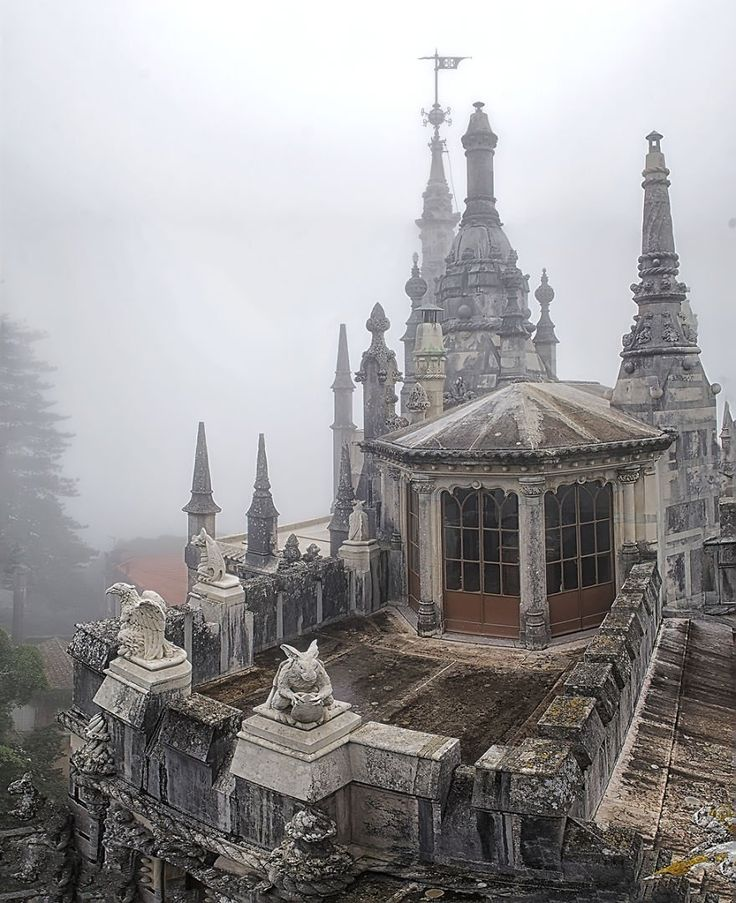 Enter the Palace of Regaleira, a place steeped in history and mystery