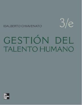 Gestión del talento humano: n° de pedido 658.3 Ch532g