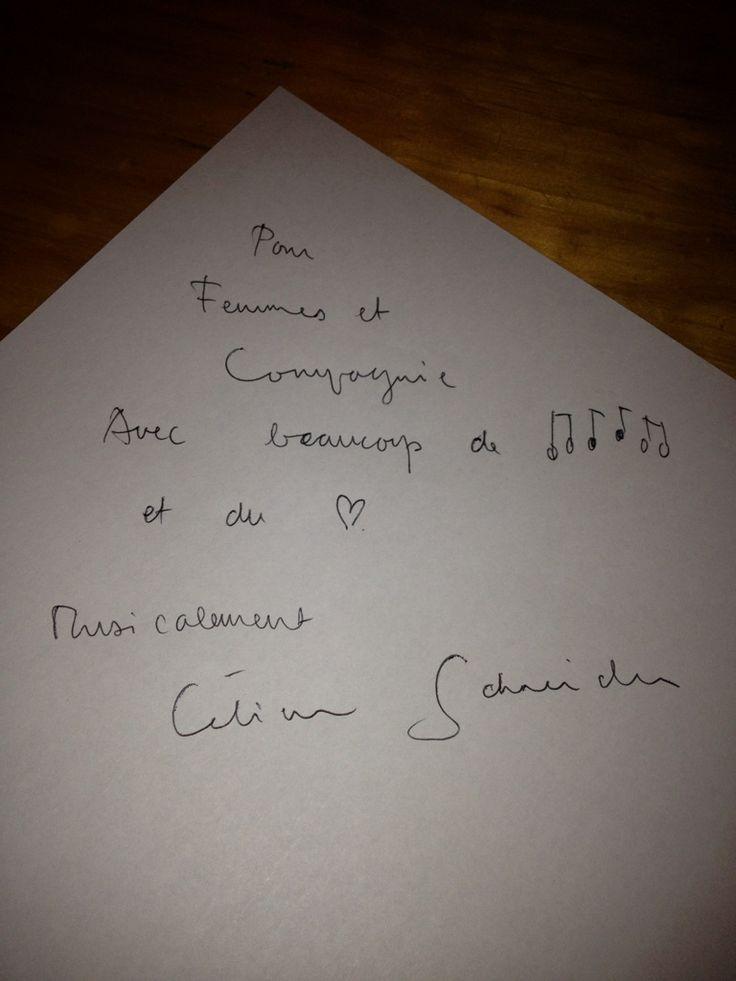 Retrouver l'interview de Célien Schneider du 18 février 2013 sur Femmes & Compagnie:  http://www.femmes-et-compagnie.com/talents-musicaux/interview-celien-schneider/#