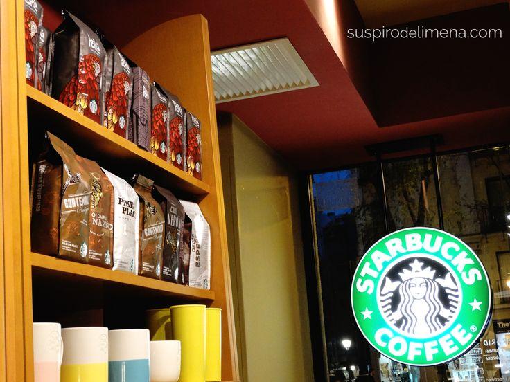 Café Perú y Starbucks España