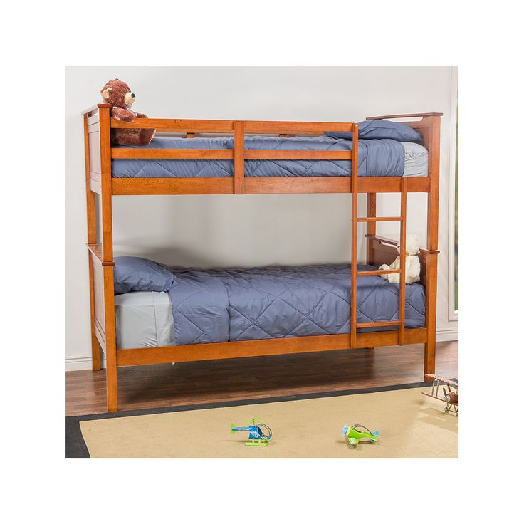 Baxton Studio Wexford Contemporary Bunk Bed, Brown