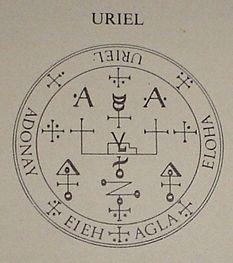LA ORDEN DE LOS ÁNGELES : INVOQUEMOSLOS: SELLO DEL ARCANGEL URIEL