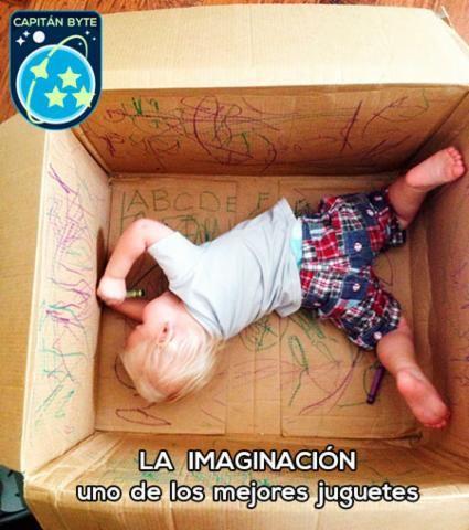 La imaginación el mejor juguete
