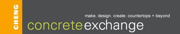 CHENG Concrete Exchange Logo - An online resource for Concrete Countertops