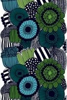 Marimekko Siirtolapuutarha Turquoise/Green Tablecloth - Marimekko Tablecloths & Table Runners