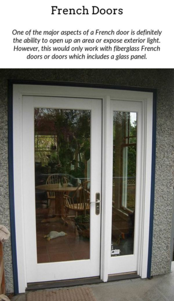 French Doors Incorporate A Bit Of Charm To Your Home By Having Internal Or Exterior French Doors These French Doors Fiberglass French Doors Exterior Lighting