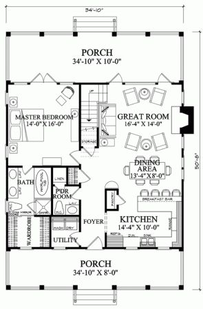 Beach House Plans also Split Level Exterior likewise Popular House Plans From Don Gardner Architects in addition Unique House Plans Open additionally Dfbc84b926ad8012 Craftsman Bungalow Historic Houses Craftsman Bungalow House Floor Plans. on craftsman lake house designs