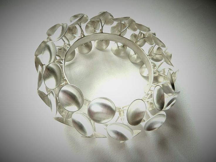 #Contemporary #handmade #bracelet made of #silver925 by #KonstantinosGeorgopoulos.
