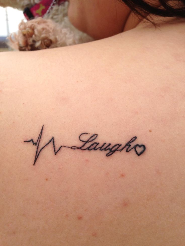 My First Tattoo Means- LIVE, LAUGH,LOVE and it also means ...