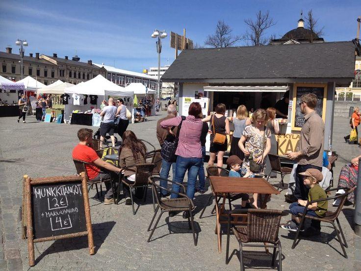 Keittiö kadulla & kylässä tarjoaa rakkaille tamperelaisille Street Food…