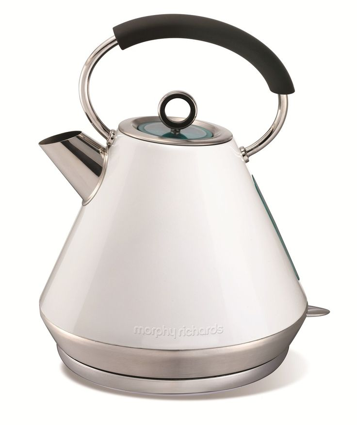 Elipta White Stainless Steel Traditional Kettle | Electric Kettles