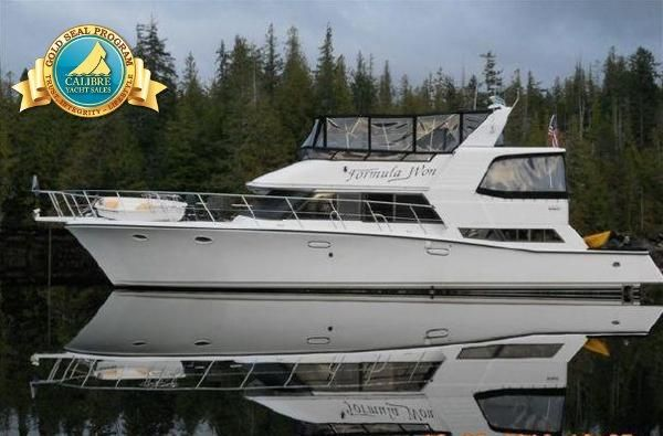 Calibre Yacht Sales : Vancouver based boat brokerage. We sell used powerboats, sailboats, trawlers, Bayliners, Camanos and more. : 1988 Symbol Yacht Fisher for sale BC CA