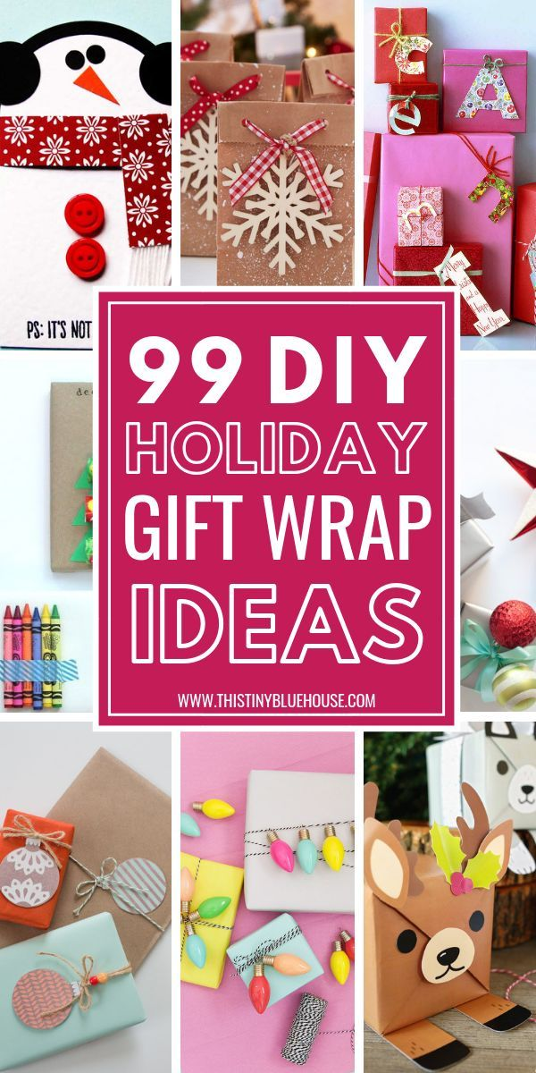 Set Your Gifts Apart With These Budget Friendly 90 DIY Holiday Wrapping Ideas ChristmasWrapping ChristmasWrappingIdeas ChristmasWrappingDIY