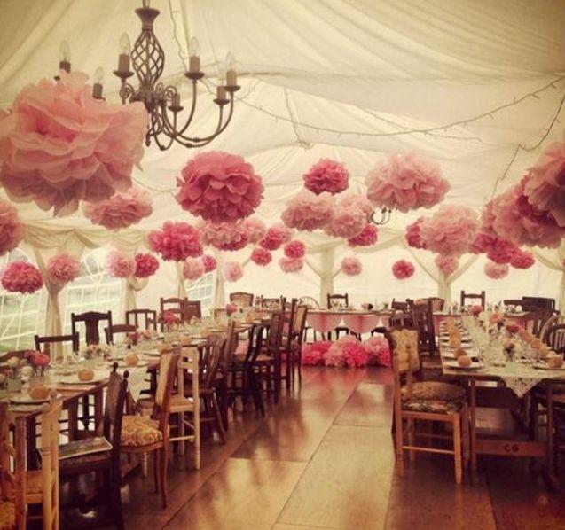 deco salle mariage idee comment faire une rose en papier plusieurs fleurs suspendues