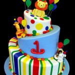 Children cakes including first-birthday cakes, christening cakes, baptism cakes and more.
