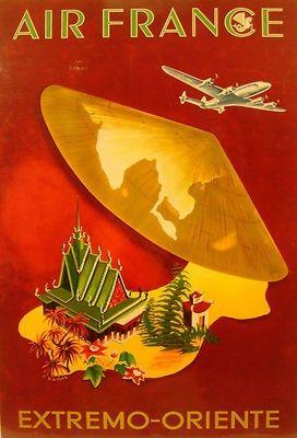 Afbeeldingsresultaat voor vintage air travel posters