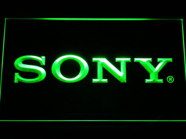Sony LED Neon Sign