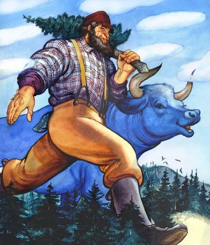 Paul Bunyan is a larger-than-life folk hero who embodies frontier vitality. He is a symbol of might, the willingness to work hard, and the resolve to overcome all obstacles. He was popularized by newspapermen across the country in 1910 and has been a part of the American culture ever since.
