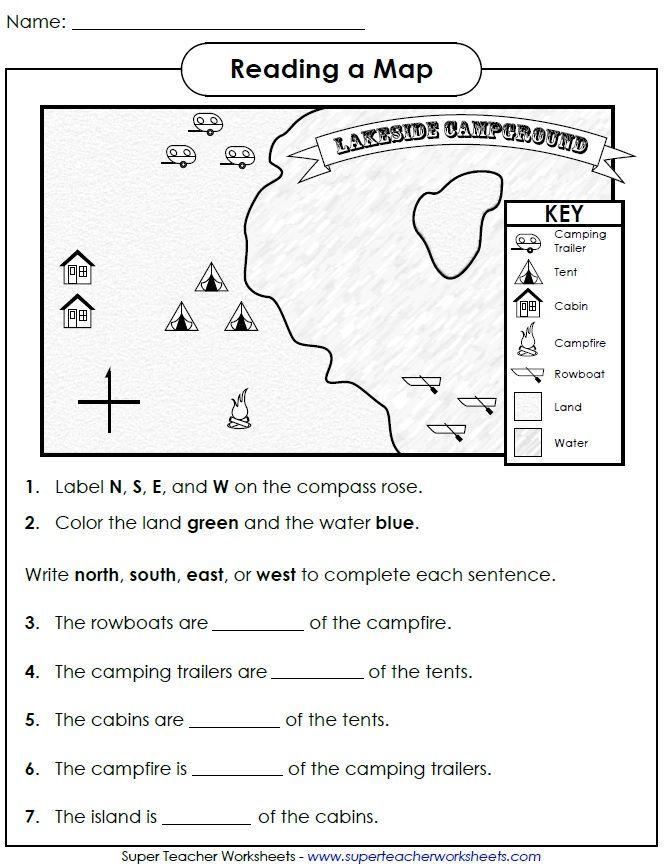 Pin On Worksheets Landforms worksheets 2nd grade