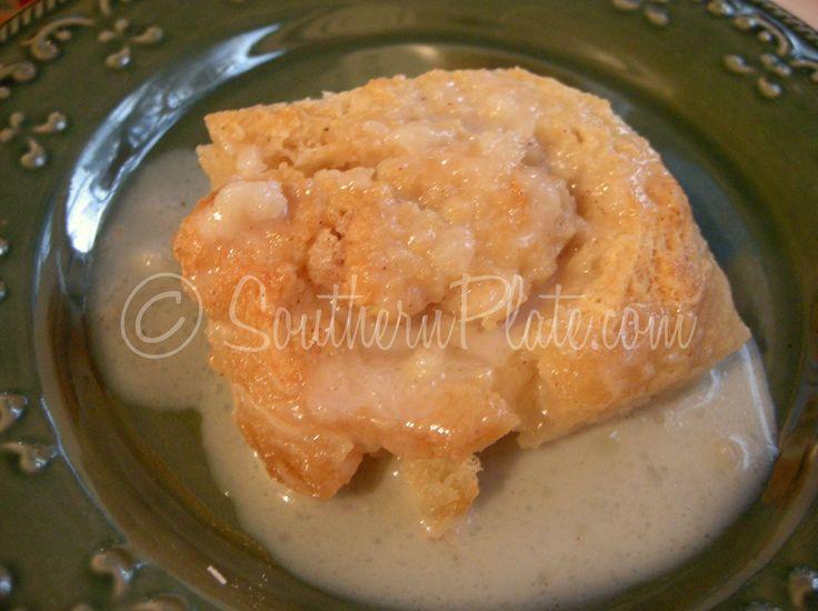 Old Timey Butter Roll Dessert