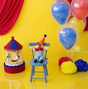 Smash the Cake Circus theme