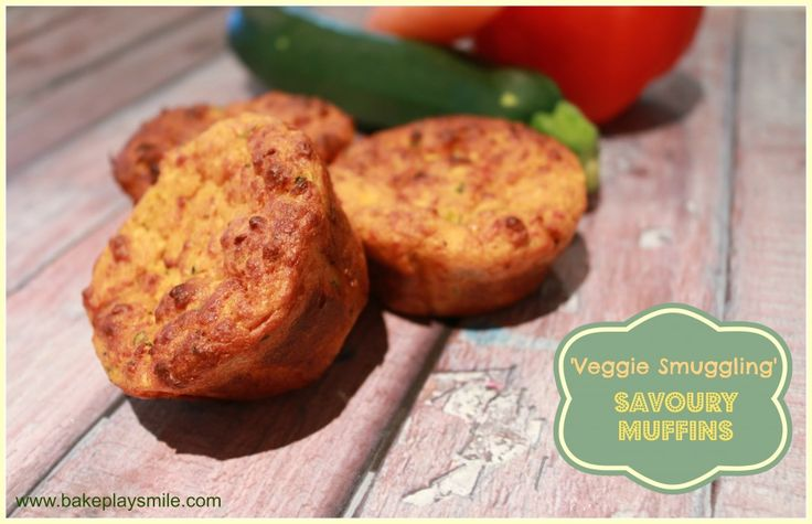 Thermomix 'Veggie Smuggling' Savoury Muffins - the best way to smuggle some extra vegetables into your diet! Very kid-friendly! http://www.bakeplaysmile.com/savoury-muffins/