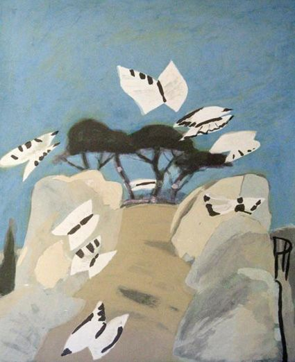 Mary Newcomb-Butterflies