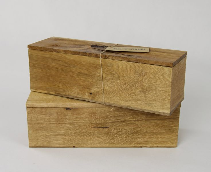 Wooden Wine /Whisky /Spirit /Rustic /Luxury Oak Box /Single Bottle /Hand crafted /Gift by PulverandHolz on Etsy