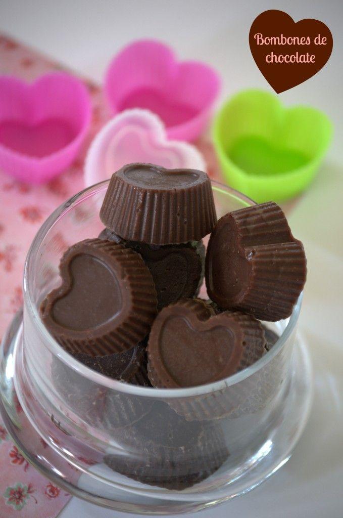 Bombones de chocolate - La cocina de Vero