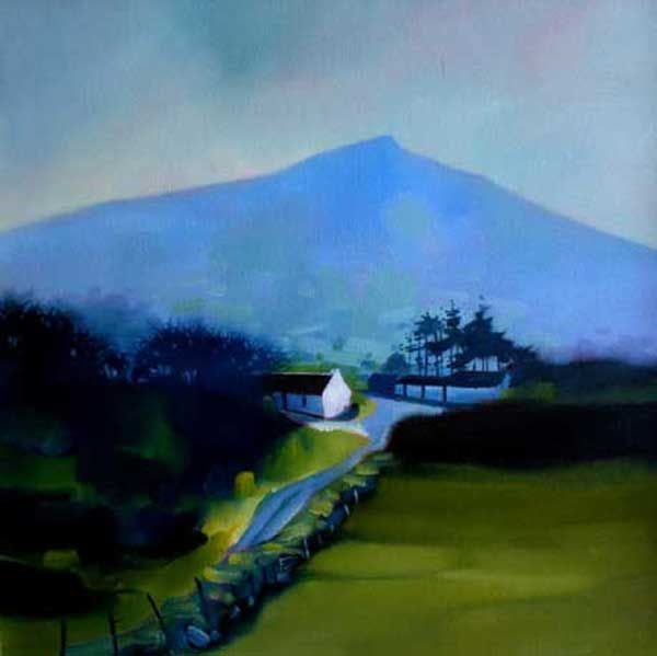 The whitewashed gable by Sharon McDaid - PRINT