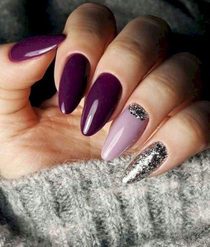 35 Winter 2019 Nail Color Trends für Damenmode