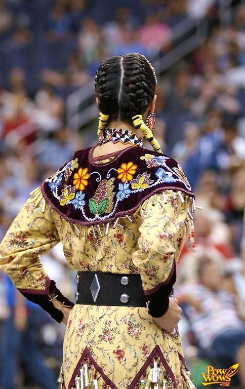 Jingle Dress. Loved watching the dances in Oklahoma and North Carolina.  Best of all?  Red Earth in OK City!