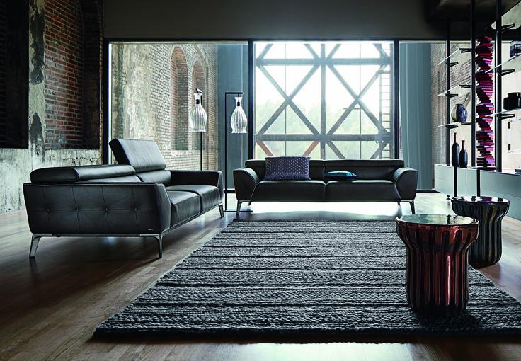 Roche bobois roman 3 seat sofa design sacha lakic for Catalogue canape roche bobois