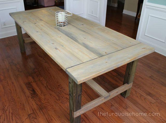 Chalk Paint Kitchen Table W Bench Ideas
