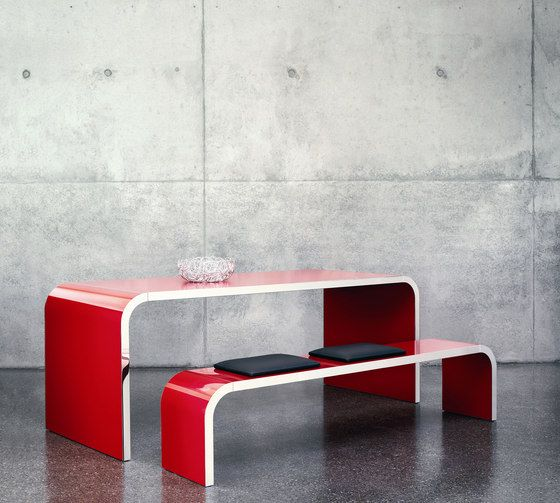 Console tables | Tables | Highline | Müller Möbelfabrikation. Check it out on Architonic