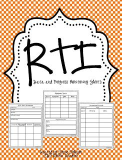 I am so excited to be a new contributor to Classroom Freebies!  Come and check out my RTI Progress Monitoring FREEBIE!