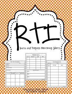 RTI Progress Monitoring FREEBIE!