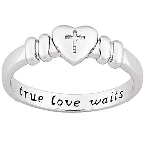 Purity rings are a good way to symbolize what you believe, and keep it close to your heart.