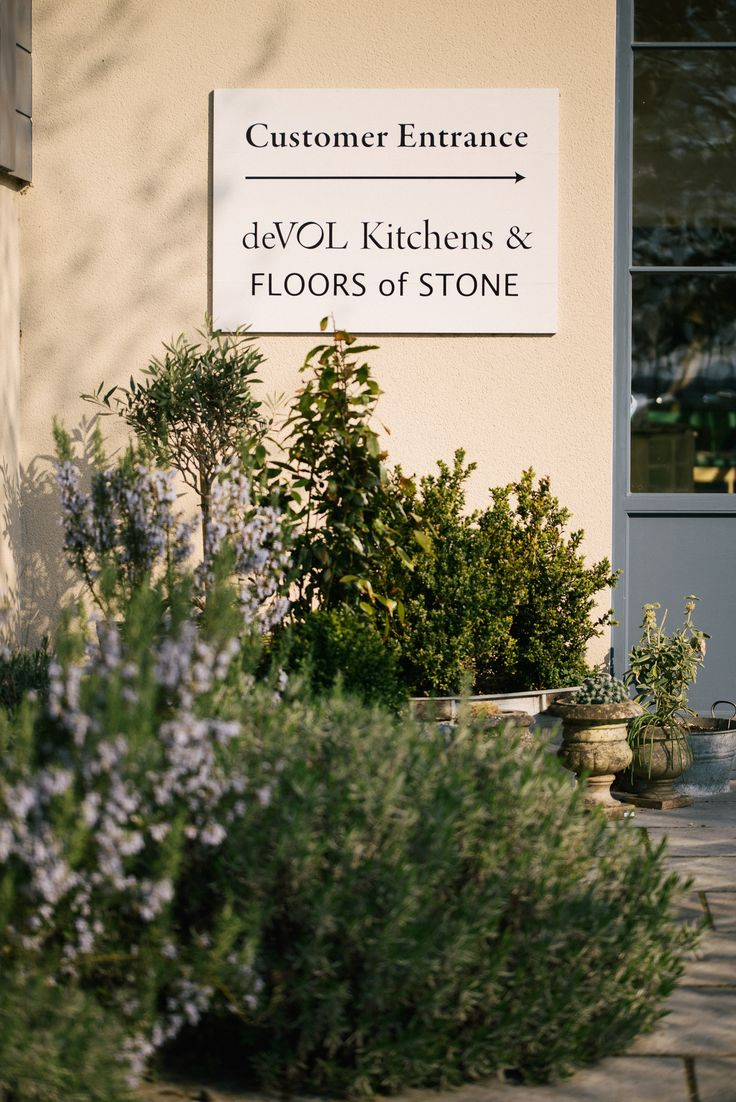 The pretty entrance to our Cotes Mill showroom