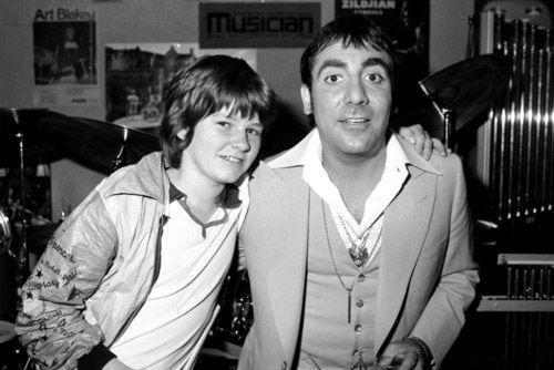 Keith Moon and Zak Starkey