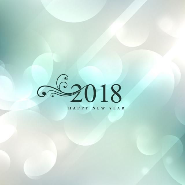 2018 new year happy eve event december card wallpaper greeting celebration occasion wishes holiday background winter season poster banner