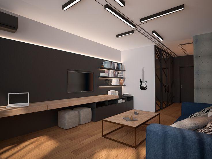 Ознакомьтесь с моим проектом в @Behance: «YM apartament»…