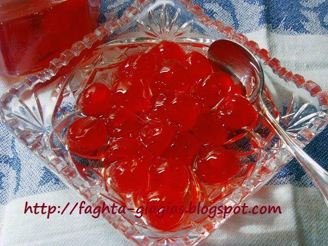 Τα φαγητά της γιαγιάς: Κεράσι γλυκό του κουταλιού