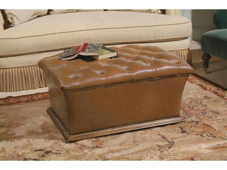 Century Furniture Living Room Warren Tufted Storage Ottoman 33 201 At Kathy  Adams Furniture And
