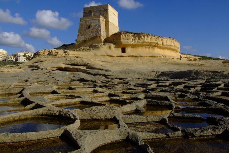 zoutmijn op Gozo, Malta