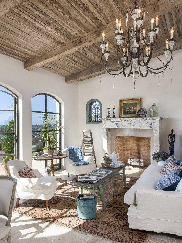 CA - Santa Barbara - Montecito French-style Farmhouse